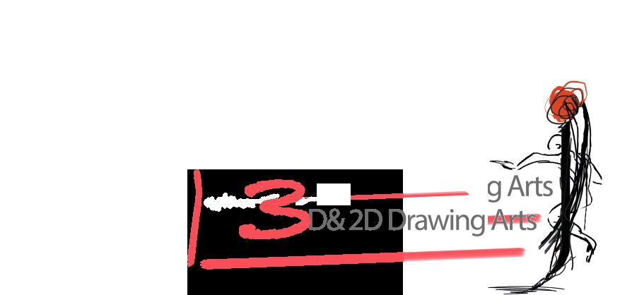 3D & 2D Drawings Arts
